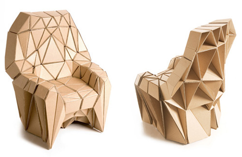 Cardboard furniture cmybacon