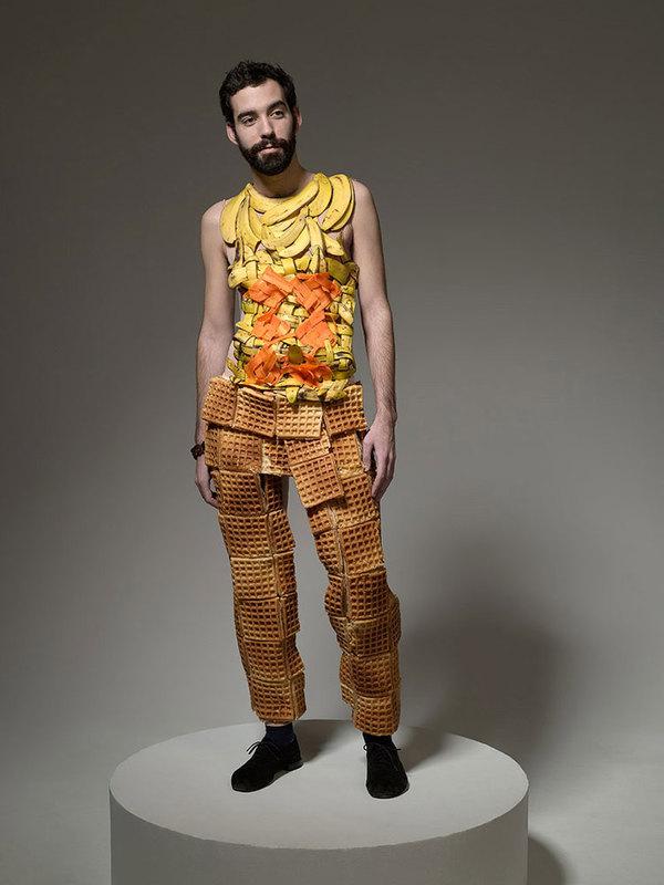 Edible clothing cmybacon